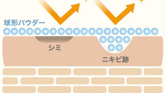 レグノスBBクリームはテカリ防止パウダー含量