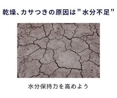 乾燥は肌荒れの初期症状